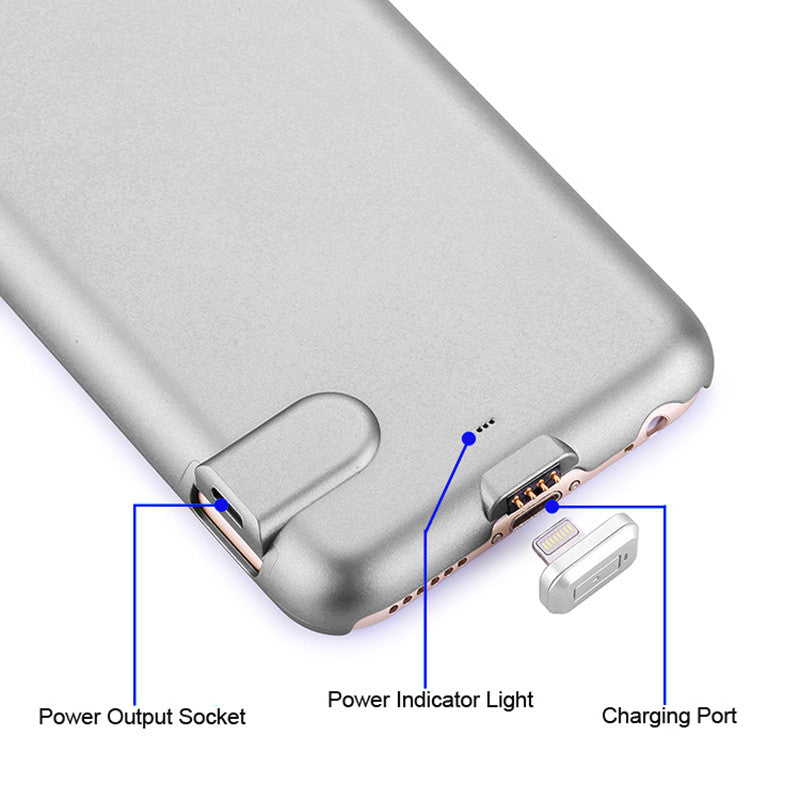 Myadstory - Amazing Ultra thin PowerBank Case External Charger charger