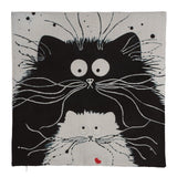 OnePerfectShop - Decorative Cat Pillow Covers cats