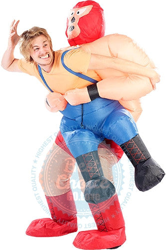 OnePerfectShop - Perfect Inflatable Costume for Halloween World Championship Wrestling WCW Costume