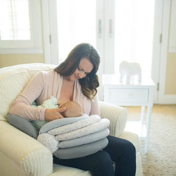OnePerfectShop - Adjustable Breastfeeding Pillow baby