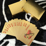 Myadstory - 24k Gold Foil Playing Cards cards