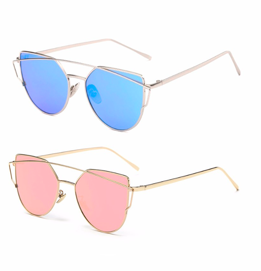 OnePerfectShop - Cat Eye Summer Sunglasses - Fashion Eyewear Sunglacess