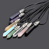 OnePerfectShop - Natural  Healing Quartz  Necklace Jewelry Necklace