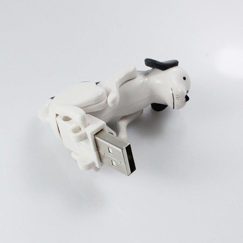 Funny Cute USB Humping Spot Dog Toy