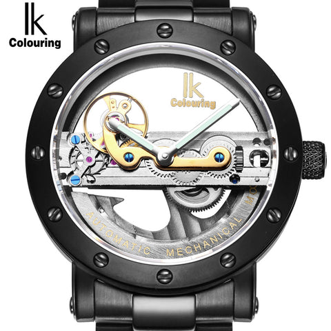 Myadstory - Hollow Skeleton Automatic Mechanical Watches watch