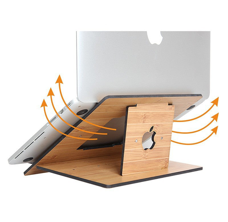 Fashion Laptop Wood Stand Table Pliante Portable For 11-15 Inch Macbook Notebook Holder