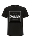 'Stronger Together' Cancer Campaign Tee - Black