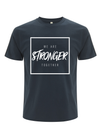'Stronger Together' Cancer Campaign Tee - Demin Blue