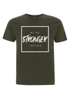 'Stronger Together' Cancer Campaign Tee - Khaki