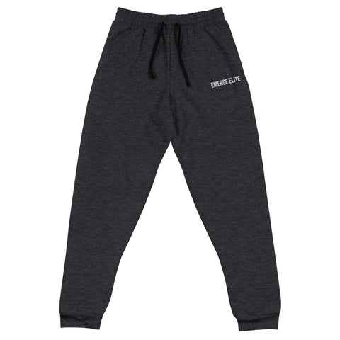 Iconic Jogger - Black Heather