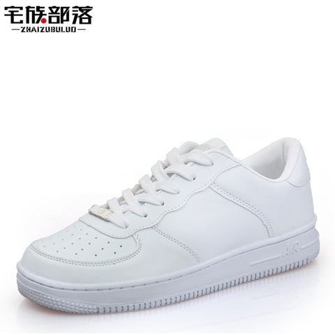 Newest Classic All White Unisex Casual Shoes Footwear High Top Men Women Breathable Walking Shoes Plus Size Outdoor Shoes 35-44
