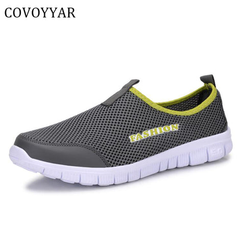Men Shoes Plus Size 35~46 Super Light Spring Summer Unisex Trainer Shoes Man Flats Causal Slip On MSN23