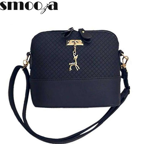 SMOOZA Deer Shell women Bag HOT SALE 2017 Women Messenger Bags Fashion lady crossbody Mini Bag Women Shoulder Bags drop shipping