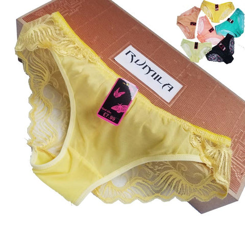 50524463f30 Big size XL-5XL Women lace G-Strings shorts Briefs sexy underwear ladies  panties