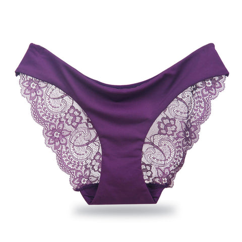 1597a2fa3c0b Women's Underwear Sexy Lace Panties Ladies Seamless Briefs Cotton Panty  Female Embroidery