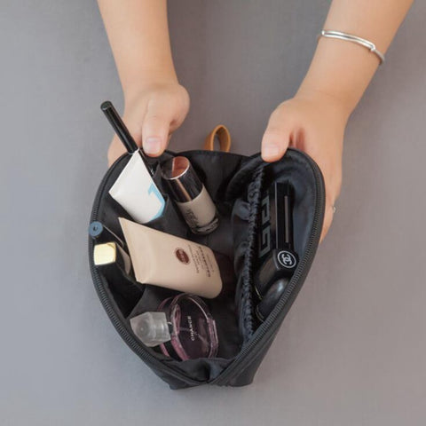 Casual Travel function Cosmetic Bag Women Zipper Small Makeup Case  Organizer Storage Pouch Toiletry Make Up 1ac83fab111ea