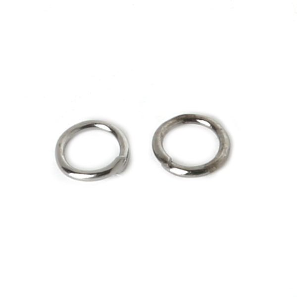 0.8*6mm 200pcs/lot metal DIY Jewelry Findings Vintage Bronze Open Jump Rings Split Ring for jewelry Findings for DIY FQA020-04