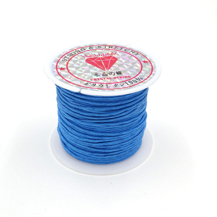 1.0mm 10m Roll Waxed Cord For Bracelet And Necklace Making Wax Cordones Thread String Wholesale Diy Jewelry Accessory AGC95