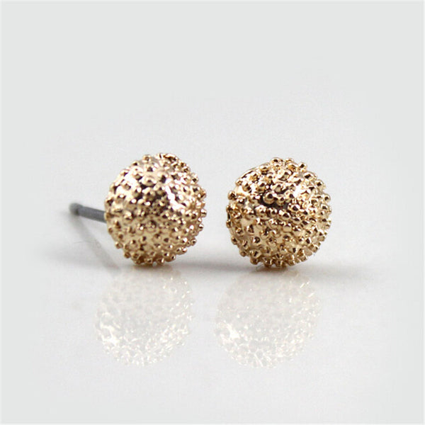 12 pairs sets Round Square Ball Alloy Crystal Stud Earrings For Women Hot-selling Cute Earring Sets