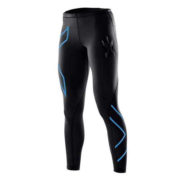 Wholesale 2XU Womens Compression Tights Pants 2016 Brand jogges Fitness Pant High Elastic Sweat blue dance jogges Pants