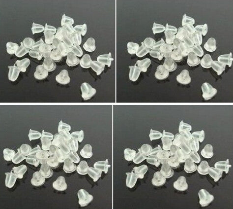 p1 1000pcs/lot Earrings Jewelry Accessories bullet plastic ear plugging/blocked,Earring back ,DIY EARRINGS!  free shipping