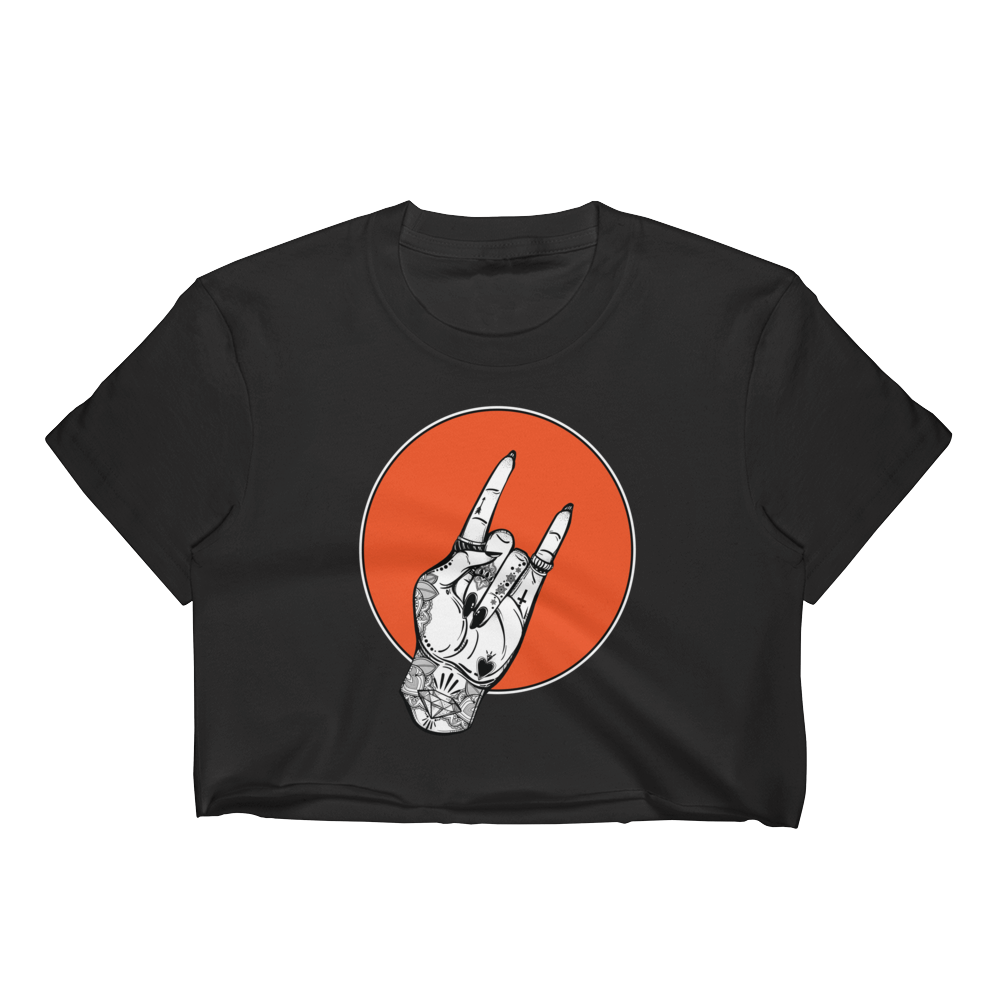 Rock On Crop Top - ICONIC FOX