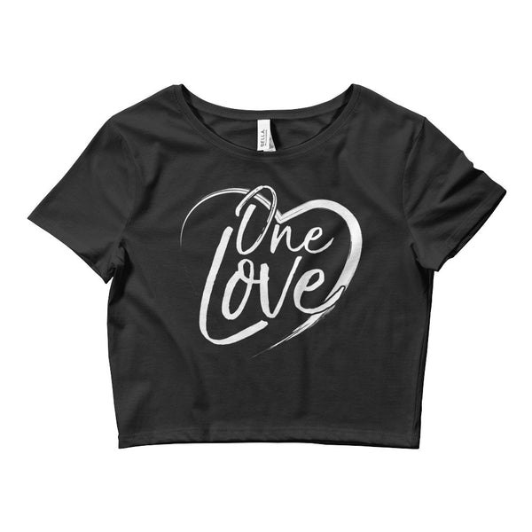 One Love Crop Baby Tee - ICONIC FOX