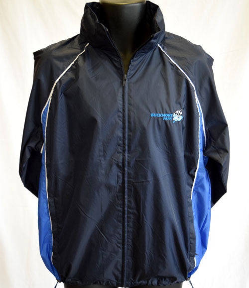 Junior Showerproof Jacket - Navy