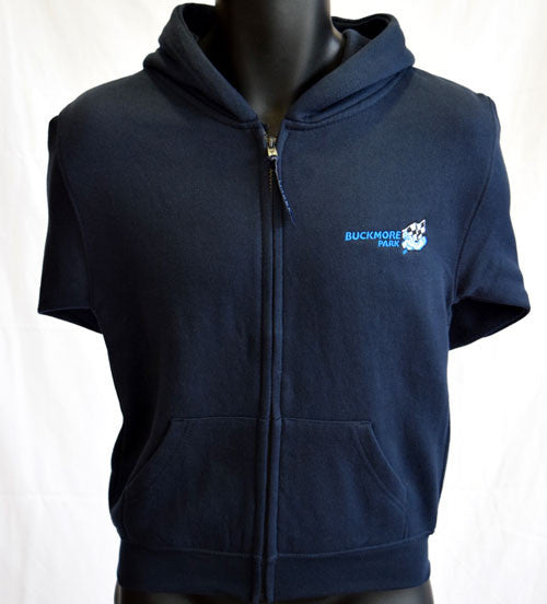 Junior Zip Up Hoodie - Navy