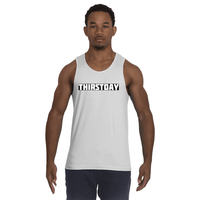 Cire Revolution Thirstday Tank Top - White