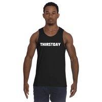 Cire Revolution Thirstday Tank Top - Black