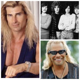 Fabio, beatles and dog the bounty hunter collage