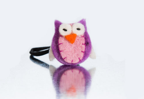 Stretchy Owl Headband for Infants and Toddlers Made By Every Bean