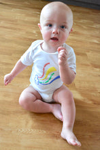 Bodysuit: So many colors in the rainbow, white