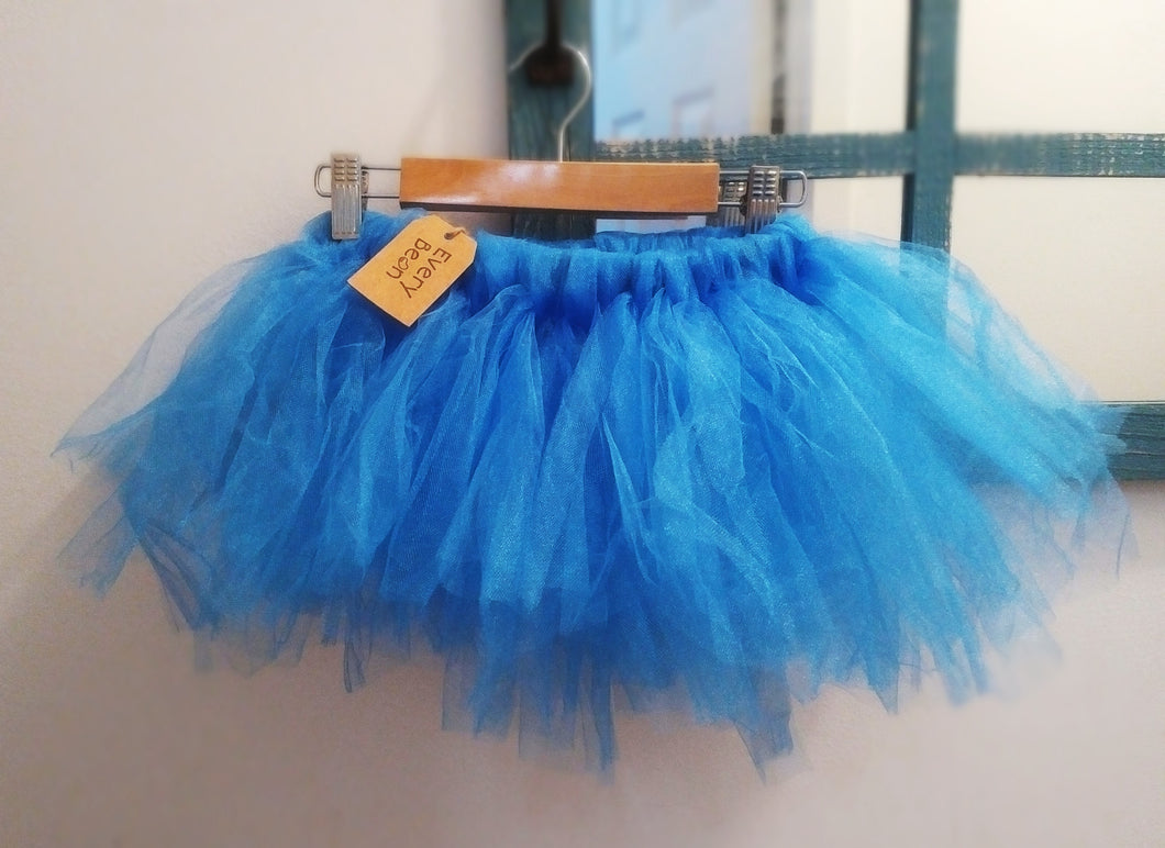 Tutu with adjustable waist: Blue You
