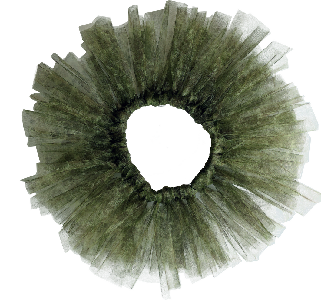 Tutu with adjustable waist: Camouflage