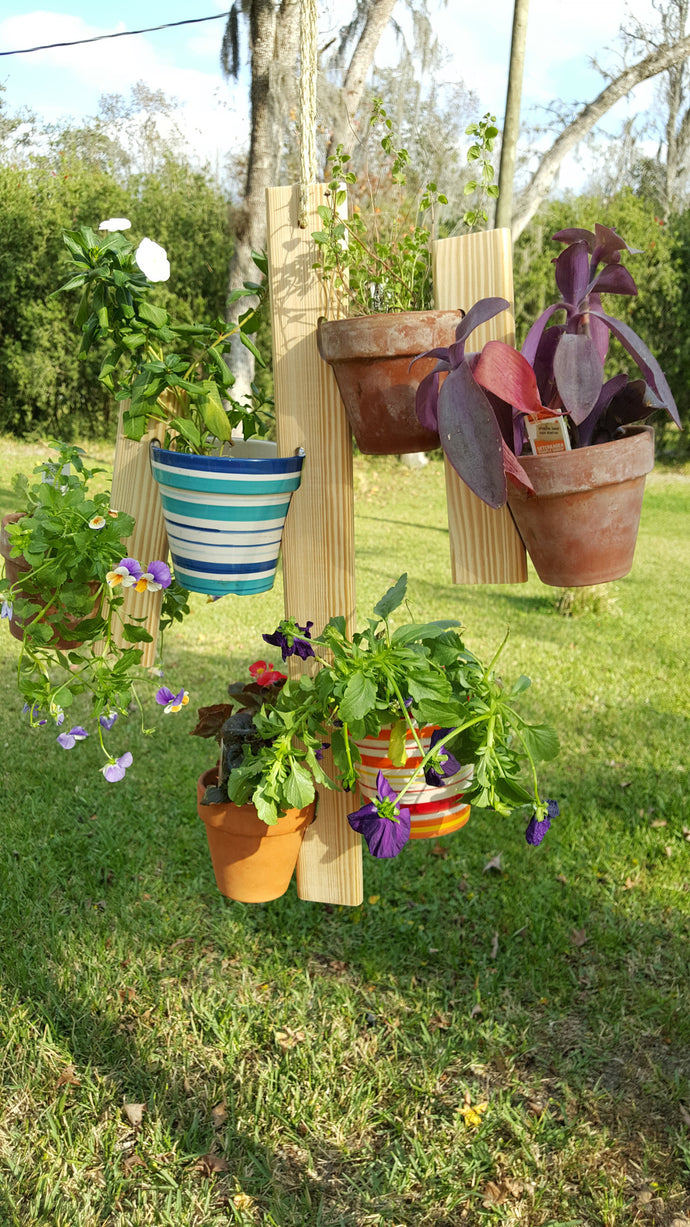 Potted Plant Hanger Set (Natural)