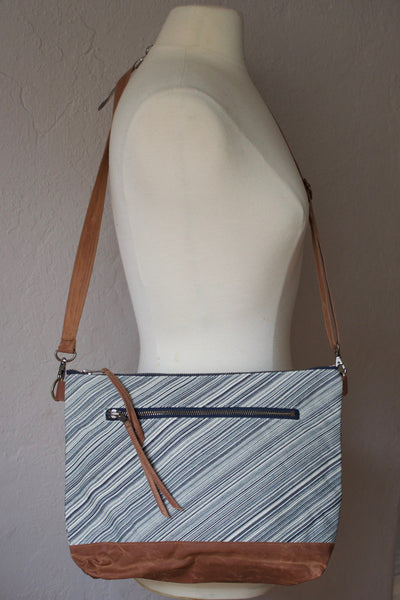 Fine Line Crossbody Zip