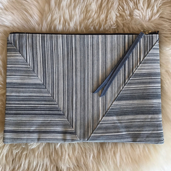 Fine Line Envelope Clutch