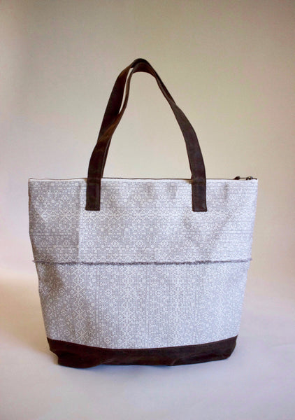 Shimmer Brocade Tote
