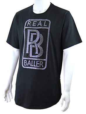 Men Real Baller Shirt - Foxy And Beautiful
