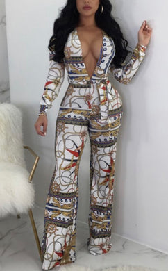 Chasity Chain Jumpsuit - Foxy And Beautiful