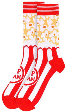 Men Popcorn Novelty Socks - Foxy And Beautiful