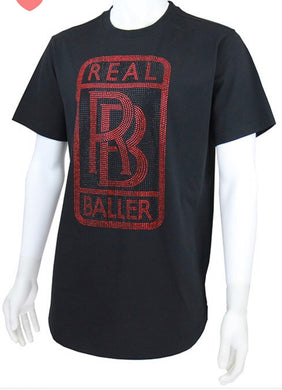 Red Real Baller Men Shirt - Foxy And Beautiful