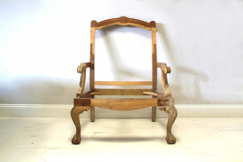 Frame Of A Antique Chair