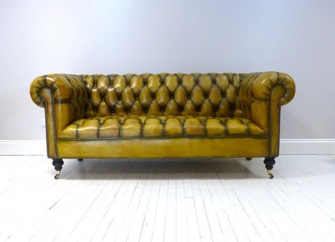 Chesterfield Sofa Fully Buttoned