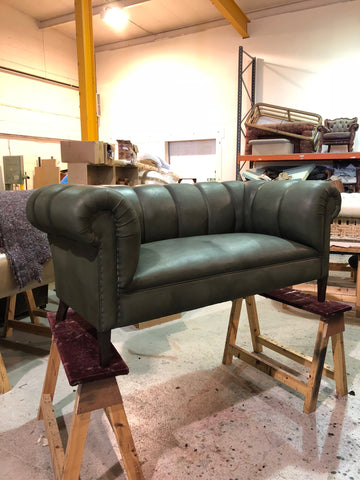 crafting a Chesterfield sofa for the bank of England