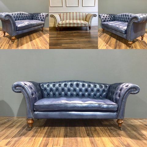 Leather Chesterfield Sofas