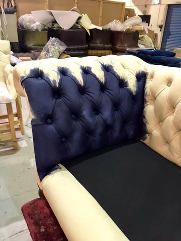 Antique sofa restoration