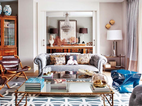 Attractive Here Another Stunning Example Of Very Well Executed Eclectic Interior  Design! We Have Here A Variety Of Classic And Contemporary With Everything  In Between!